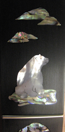 polar bear detail 1