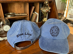 Blue Lion Cap